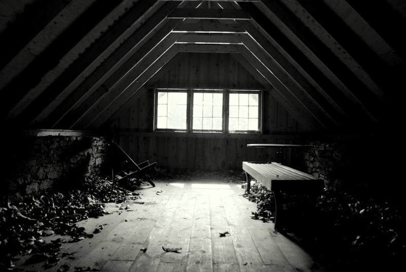 Attic  (my 80's poetry)